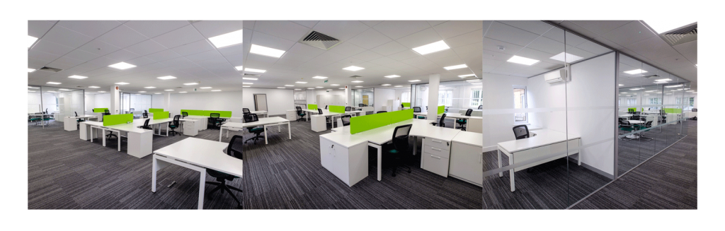 Newly refurbished offices at Tanshire Park Surrey Business Park